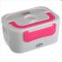 Автомобильный ланч бокс с подогревом Lanch Box (3066YY/ 12v) розовый NEW DESIGN
