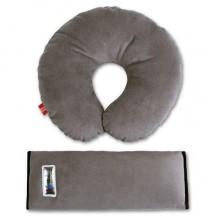Комплект дорожный для сна Eternal Shield серый (4601234567848) NEW DESIGN
