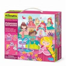 """3D-пазл 4M """"Принцессы"""" (00-04718) NEW DESIGN"""