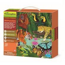 """3D-пазл 4M """"Тропический лес"""" (00-04678) NEW DESIGN"""