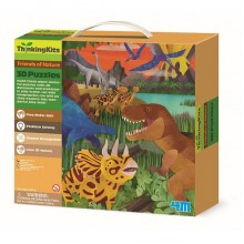 "3D-пазл 4M ""Динозавры"" (00-04668) NEW DESIGN"