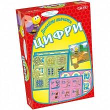 Настольная игра Tactik  Давайте изучать цифры на украинском языке