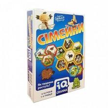 Настольная игра Granna IQ Семейки на украинском языке