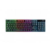 Клавиатура проводная REAL-EL Comfort 7090 Backlit USB с подсветкой Black
