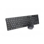 Клавиатура + мышка беспроводная REAL-EL Comfort 9010 Kit Wireless Black